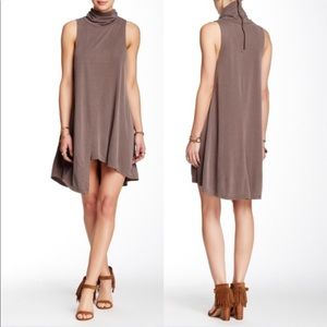 We the free Queen Anne tank dress in taupe